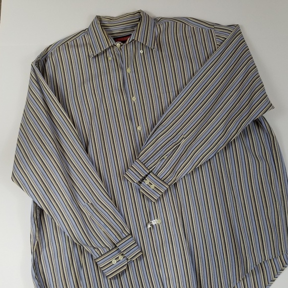 Austin Reed Shirts Austin Reed Xxl Big Man Striped Shirt Poshmark